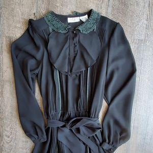 SAKOWITZ   Vintage Sheath Maxi Dress Sz 14